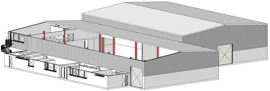 Herindeling ruimtes in 3D